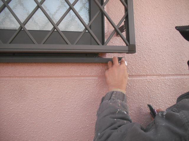 サッシ窓の掃除