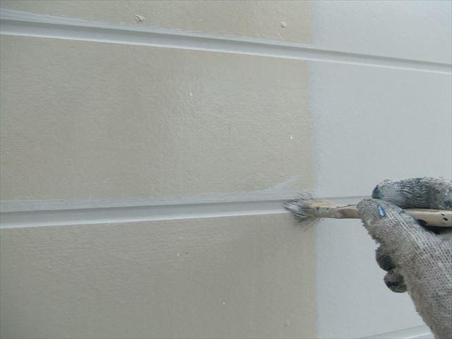 外壁目地刷毛塗り