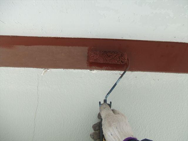 木枠下塗り