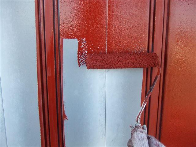 雨戸錆止め塗装