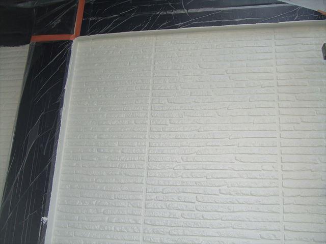 外壁中塗り後1階
