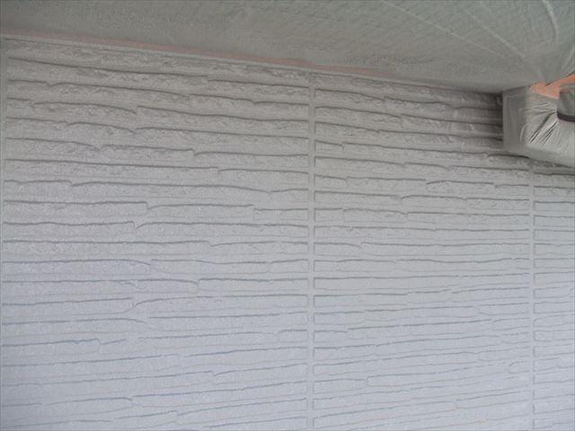 外壁の仕上がり