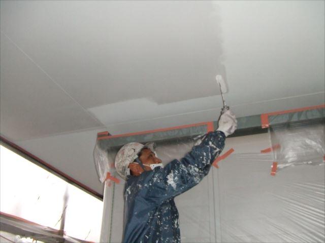駐車場天井塗装セラマイルド