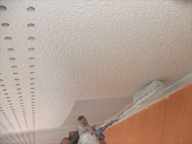 軒天塗装、アレスセラマイルド