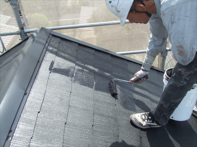 屋根仕上げ塗装ヤネフレッシュSI