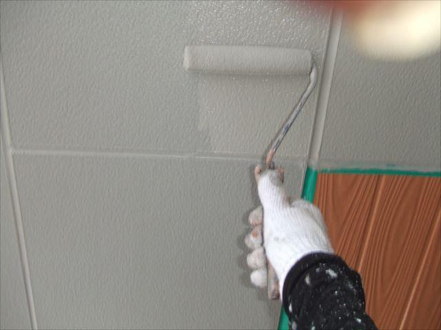 柱型外壁仕上げ塗装プレミアムシリコン
