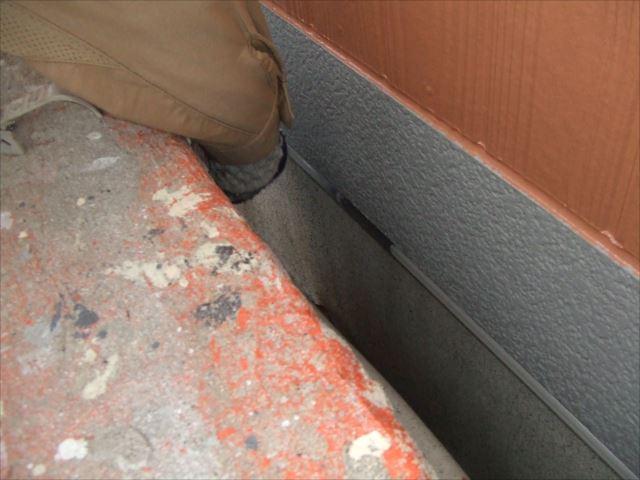 土台水切り塗装ファインSI