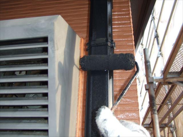 竪樋塗装ファインSI