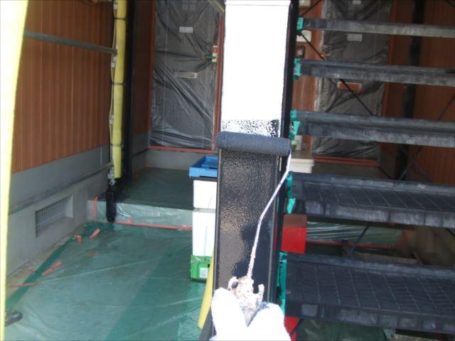 鉄骨階段塗装ファインSI