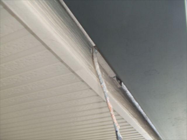 破風板塗装ファインSI