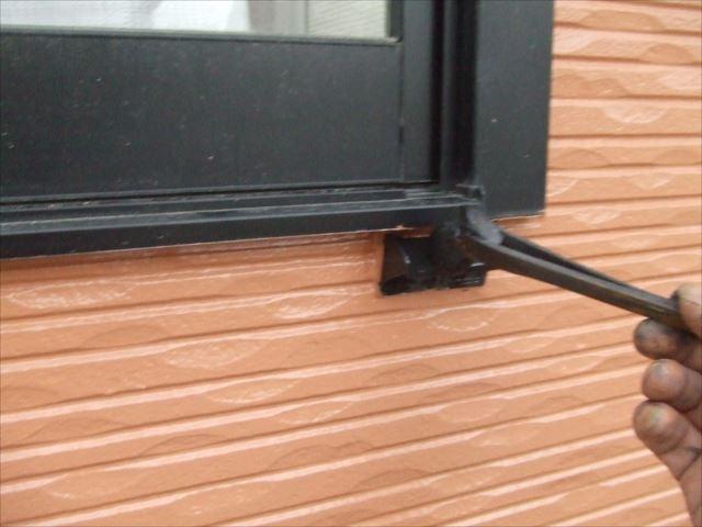 窓下水切り塗装ファインSI