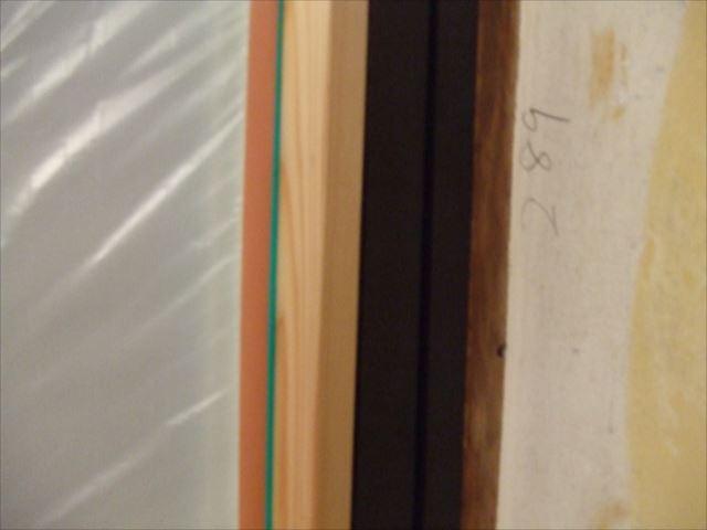 木枠クリヤー塗装ウレテイト