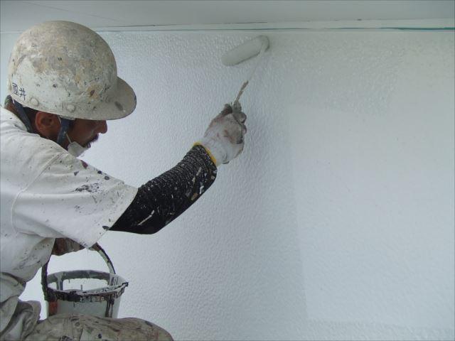 漆喰壁塗装セラマイルド