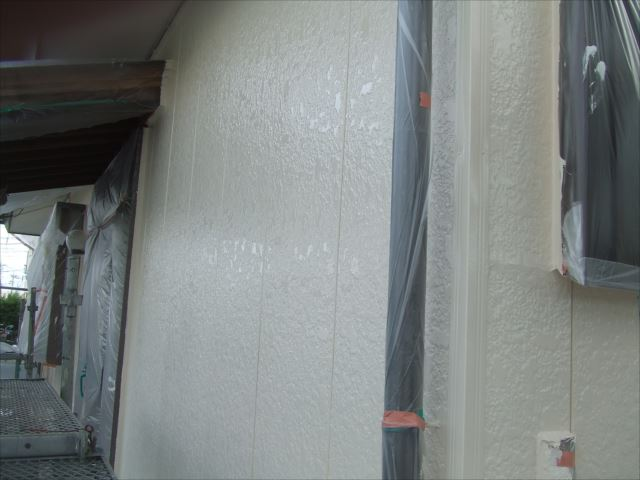 外壁仕上がりダイヤスーパーセランマイルド