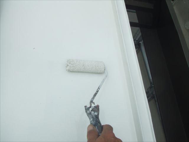 瓦棒屋根仕上げ塗装、ヤネフレッシュSI