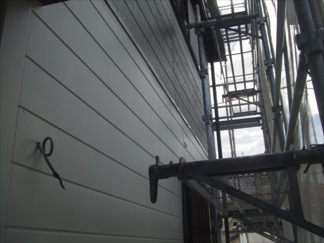 サイディング材外壁、仕上がり