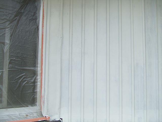 錆止め塗装後、1液ハイポンファインデクロ