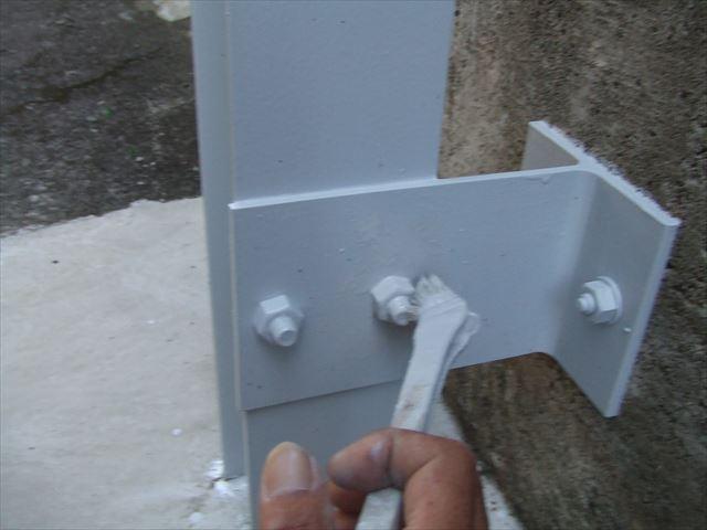 鉄骨塗装、コスモマイルドシリコン2