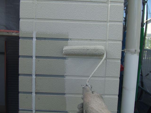サイディング外壁塗装、クリーンマイルドシリコン