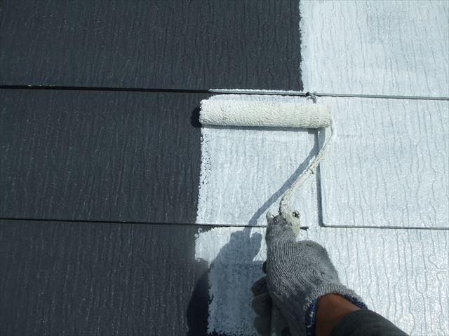 屋根下塗り、デラフロンルーフシーラー