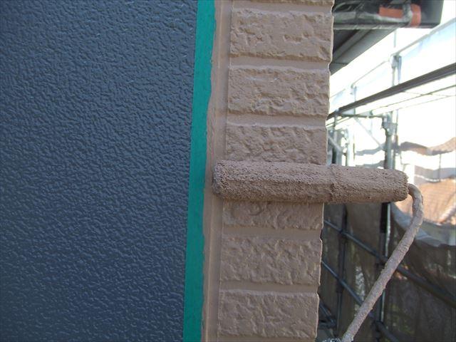 塗り分け部分塗装、デラフロンW