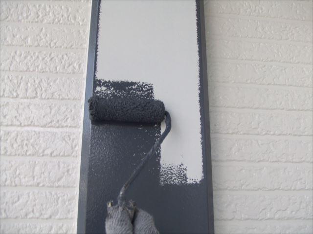 化粧柱塗装、シリコンガードL