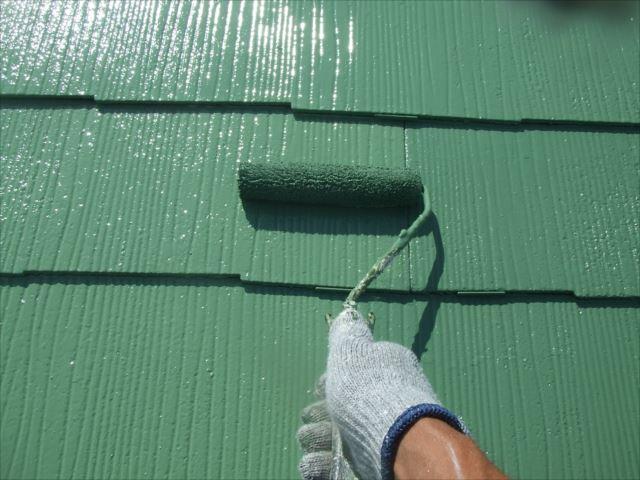屋根塗装、ヤネフレッシュSI