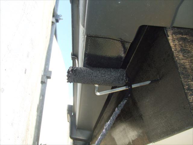 雨樋塗装、コスモマイルドシリコン2