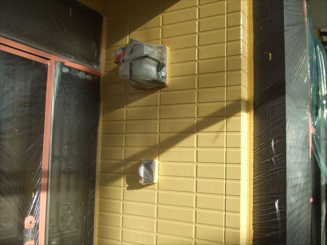 サイディング外壁塗装後、ダイヤスーパーセランマイルド