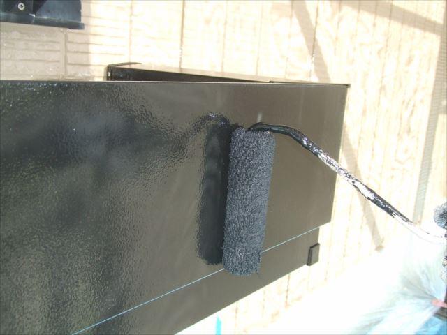 フラワーボックス塗装、コスモマイルドシリコン2
