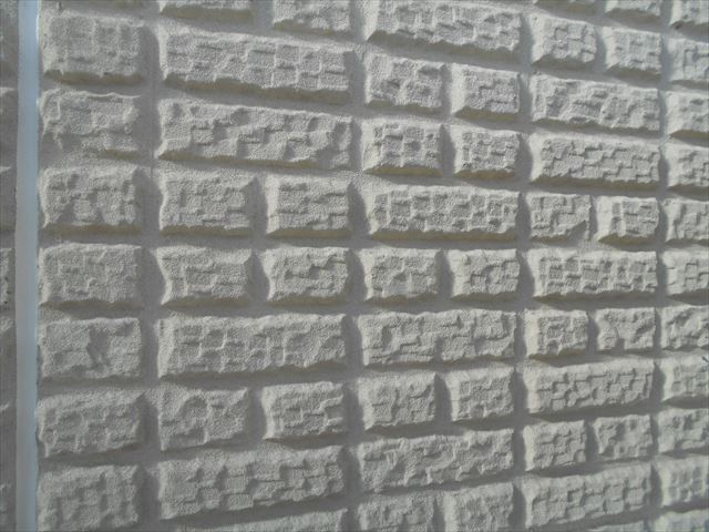 S邸外壁下塗り前