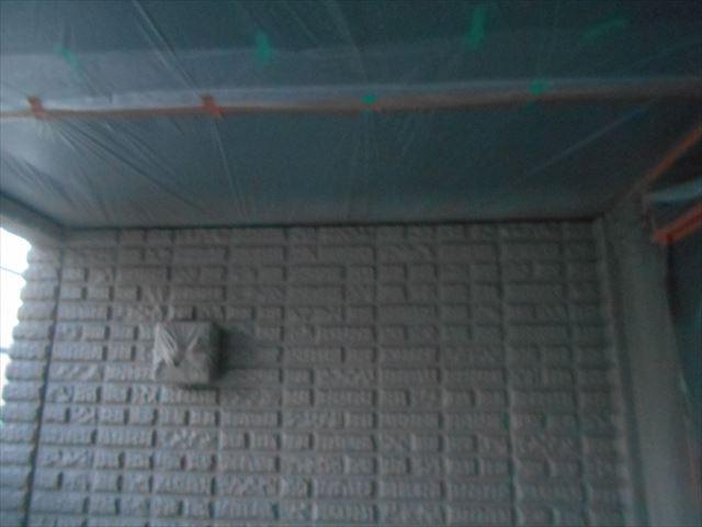 S邸壁中塗り1階