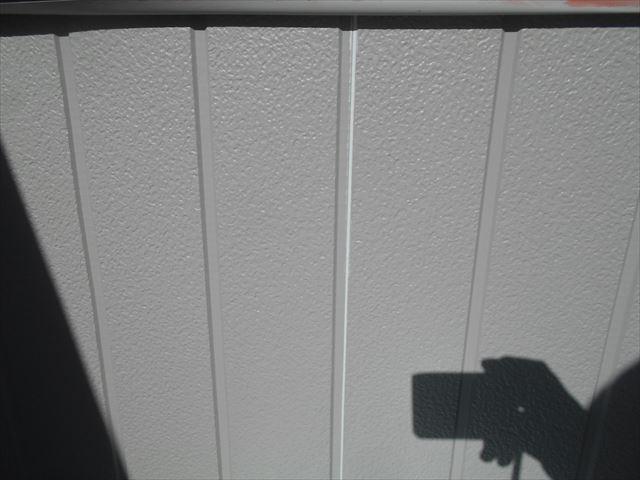 S邸バルコニー壁ホルジー完了