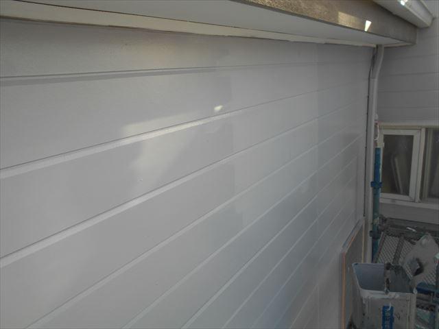 M邸外壁上塗り2回目