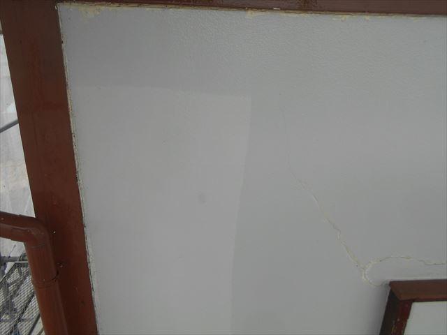 S邸外壁洗浄中