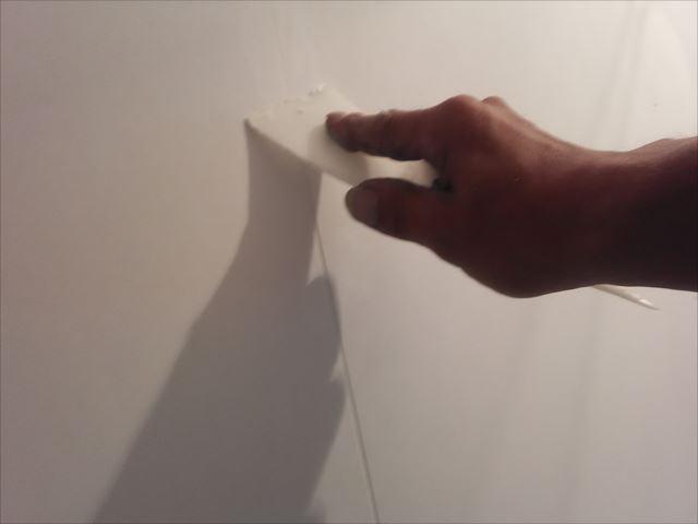 ケイカル板パテ処理