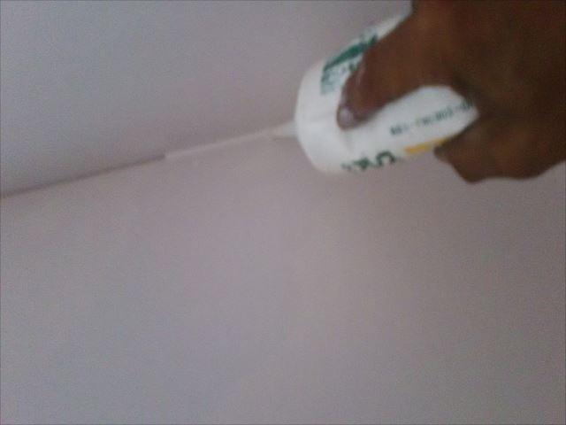 壁、天井の入角処理