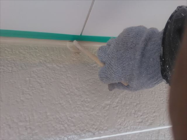 外壁仕上げ塗装、プレミアムシリコン