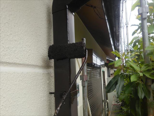 雨樋塗装(竪樋)