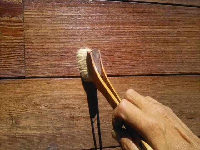 木製衝立仕上げ塗装