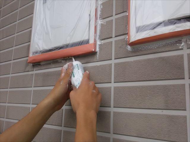 サッシ窓周り補修