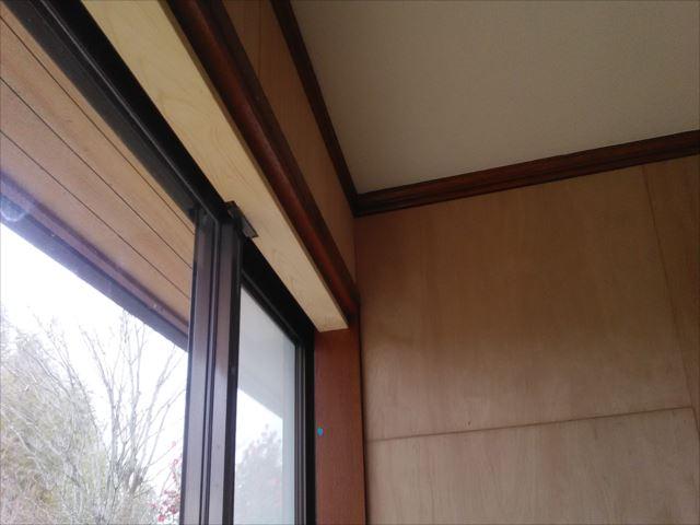 内部木塗装前