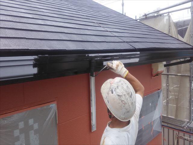 雨樋,破風板塗装