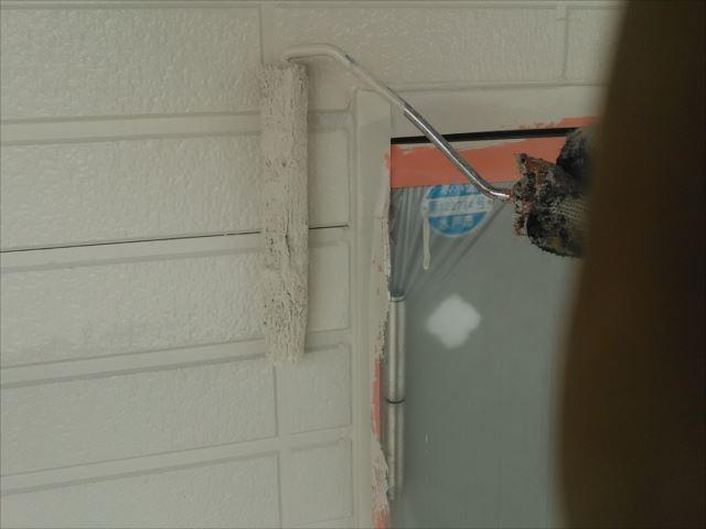 1階外壁仕上げ塗装