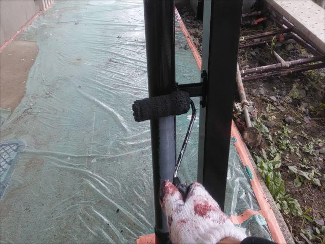 雨樋(竪樋)塗装