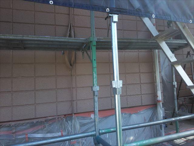 外壁仕上げ塗装後
