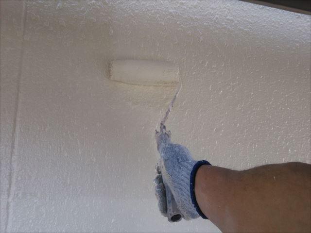 2階外壁着色(2回目)仕上げ塗装