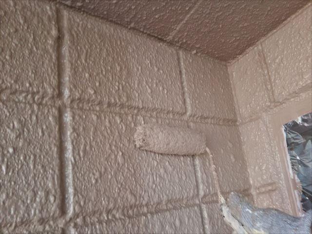 1階外壁着色(2回目)仕上げ塗装