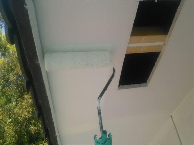 軒天塗装、ビニデラックス