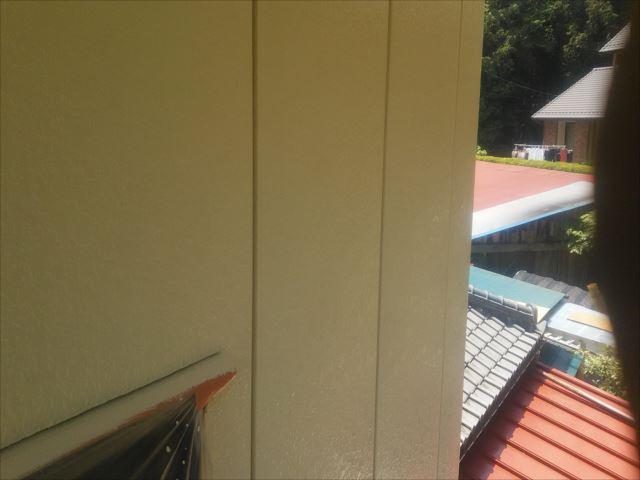 外壁塗装完了、クリーンマイルドシリコン